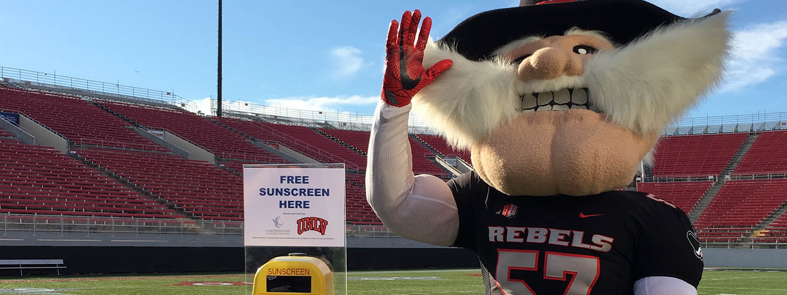Comprehensive and UNLV Partner to Provide Free Sunscreen to Fans